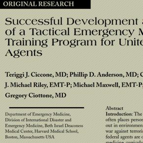 TAC-MED REFERENCE - ISTM Tac-Med